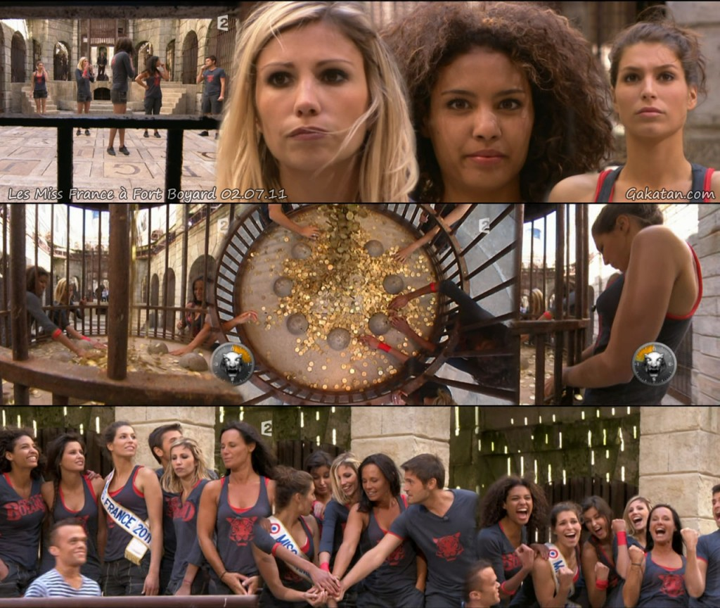Photos   Chloé Mortaud dans Fort Boyard 2011