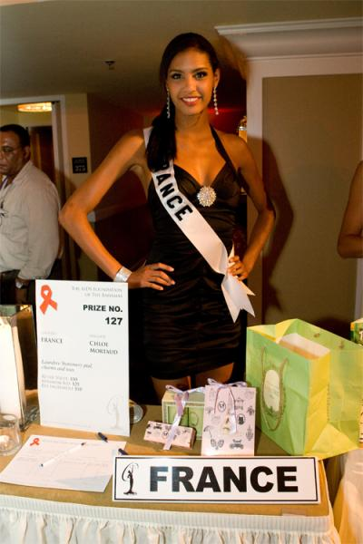 Photos   Chloe Mortaud à Miss Univers 2009